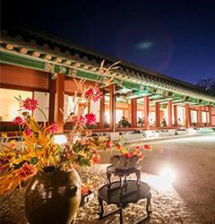 5月20日~6月6日 <BR>享受韓國傳統宮中文化。